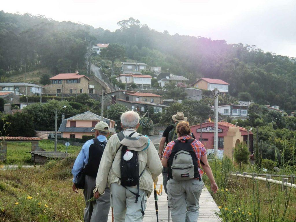 peregrinos-camino-ingles